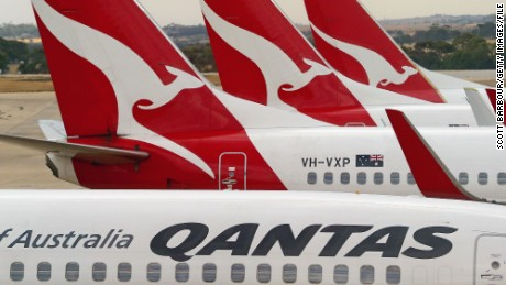 A Wi-Fi hot spot named 'Mobile Detonation Device' delayed a Qantas flight.