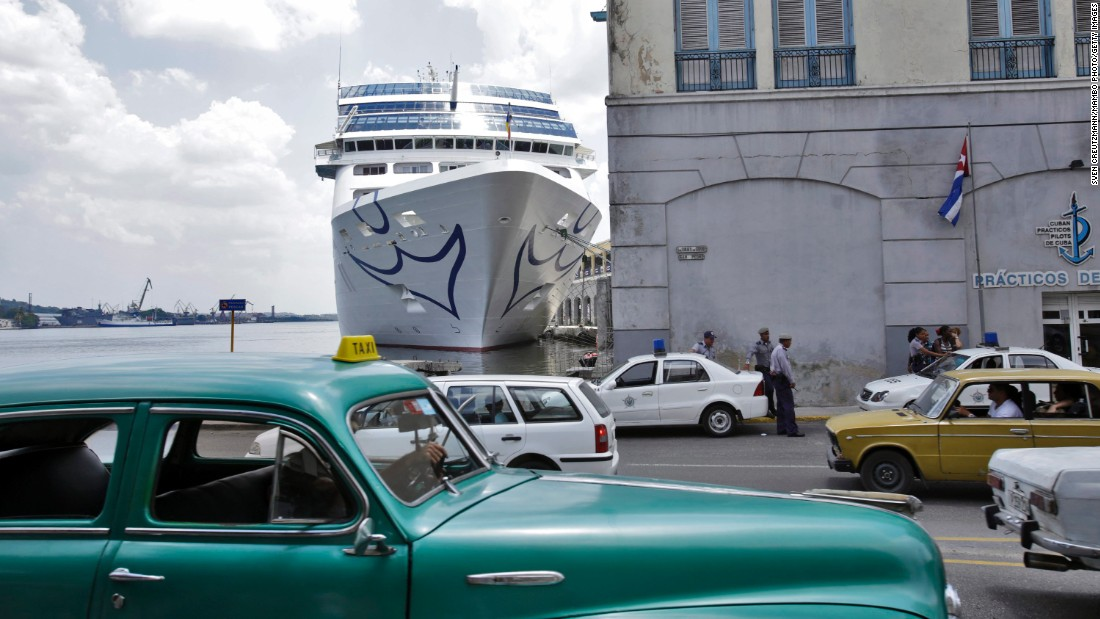 "On May 2, the Adonia became the <a href=""/2016/05/02/travel/us-cuba-cruise/index.html"" target=""_blank"">first U.S. cruise ship</a> in nearly 40 years to arrive in Cuba. The Carnival vessel carried approximately 700 passengers on its trip from Miami to Havana."