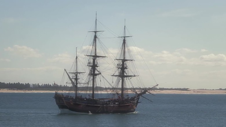 Captain Cook's ship found?
