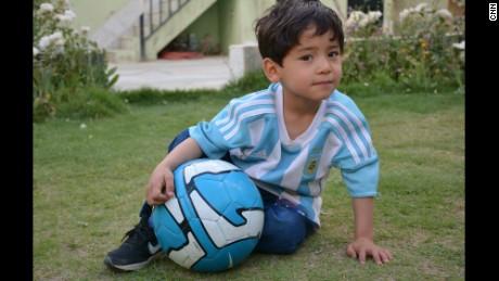 Lionel Messi's biggest fan?