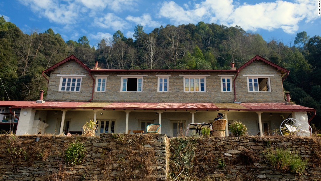 Guests of Jilling Terraces stay in the restored 80-year-old Chestnut House, built in 1933 by a Sanskrit scholar for his Polish doctor wife.