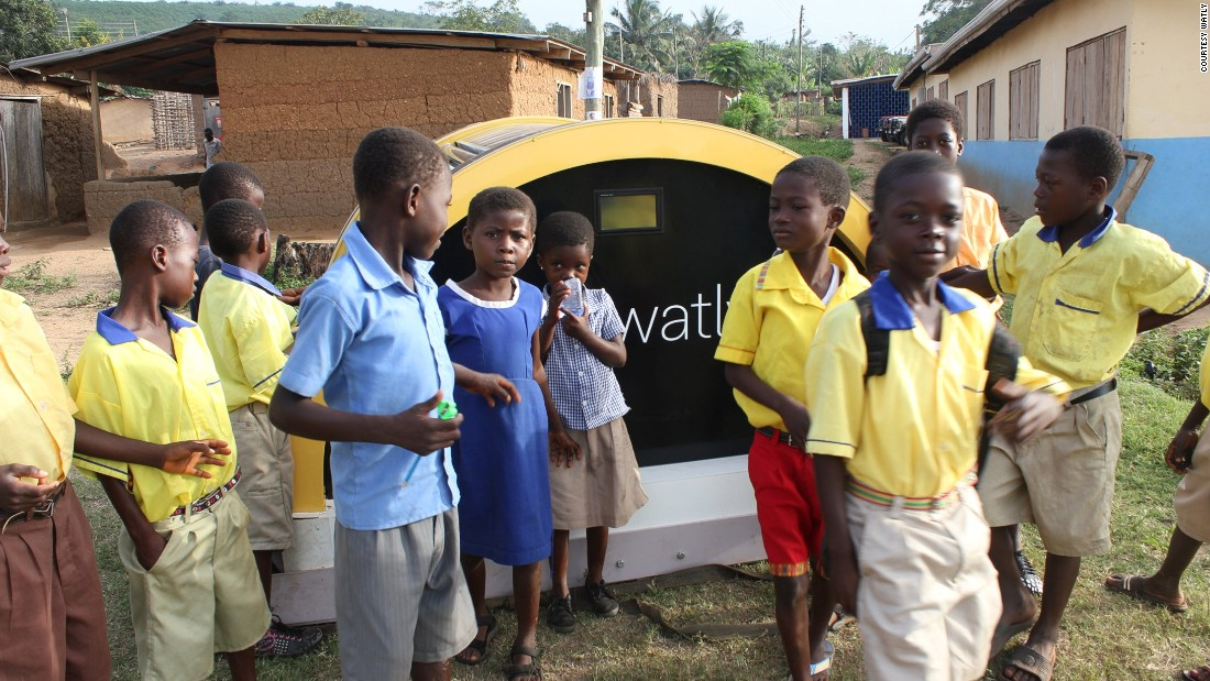 A solar powered machine currently being tested in Ghana could boost development across the rural areas of Sub-Saharan Africa - where around 625 million people are without electricity and 39% lack access to safe water.