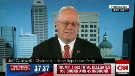 Indiana Republican primary chairman on race Lead Cardwell Live_00002320