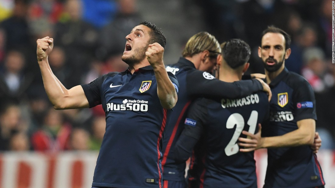 Atletico held out in the end to book its place in the final for the second time in three seasons on away goals as the tie finished 2-2 on aggregate.