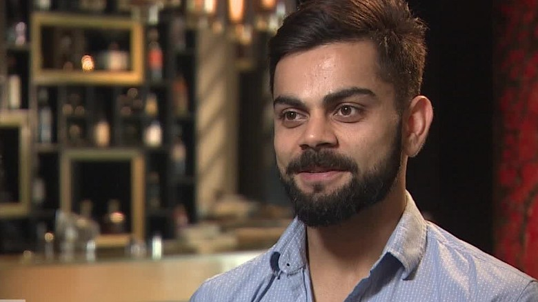 Quick-fire questions with Indian cricket god Virat Kohli