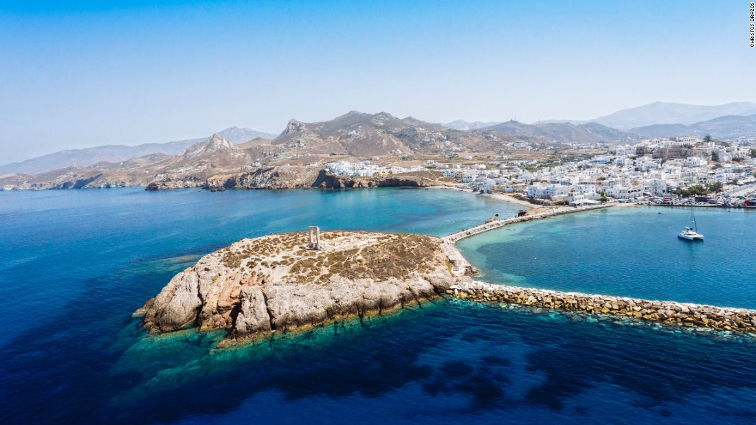 Clearly, there's no shortage of pleasant aquatic pursuits on Naxos. It's the largest of the Cyclades, a group of about 30 islands in the Aegean Sea.