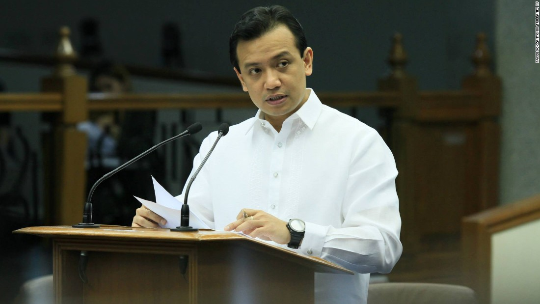 A retired navy officer turned senator, Antonio Trillanes IV is known for his strong views on stamping out corruption and for serving as a backroom negotiator in territorial disputes with China.