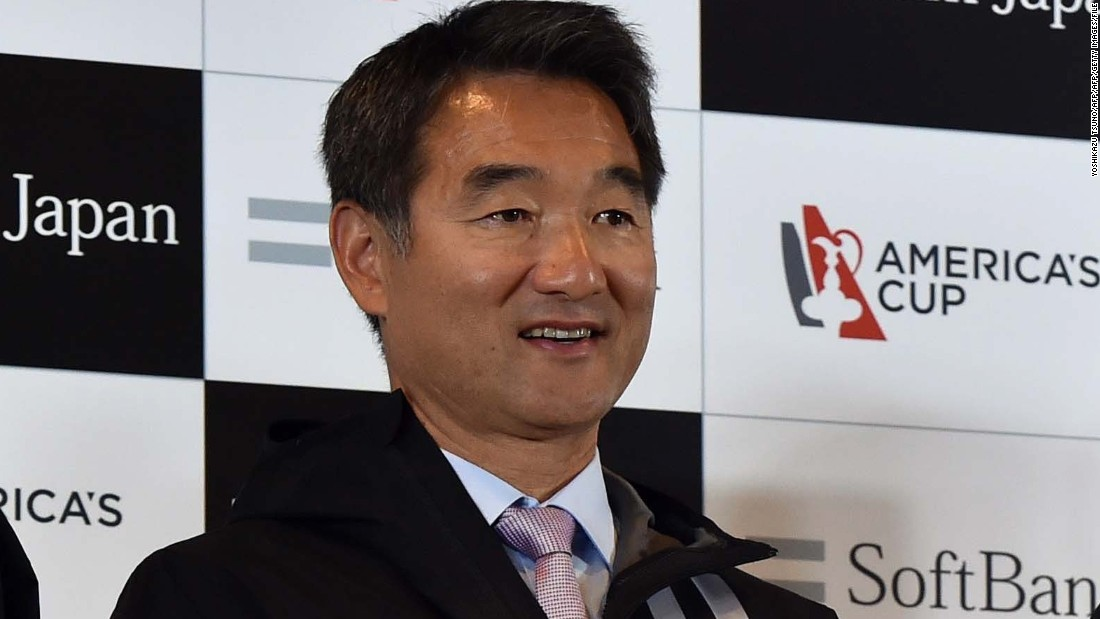 Barker will be supported by general manager Kazuhiko Sofuku. The 49-year-old is taking part in his fourth America's Cup, having made his debut in 1995 as bowman on Nippon Challenge.