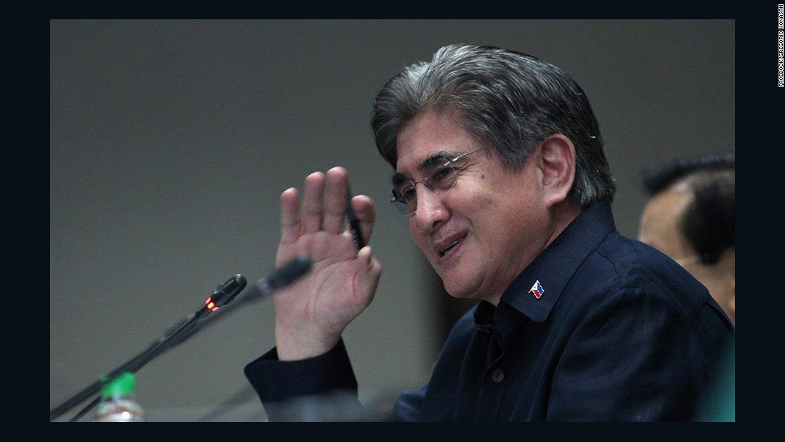 Gregorio Honasan is a former military man who played a key role in the 1986 revolution that unseated Ferdinand Marcos and also led unsuccessful coups against former President Corazon Aquino.