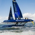 team artemis racing boat