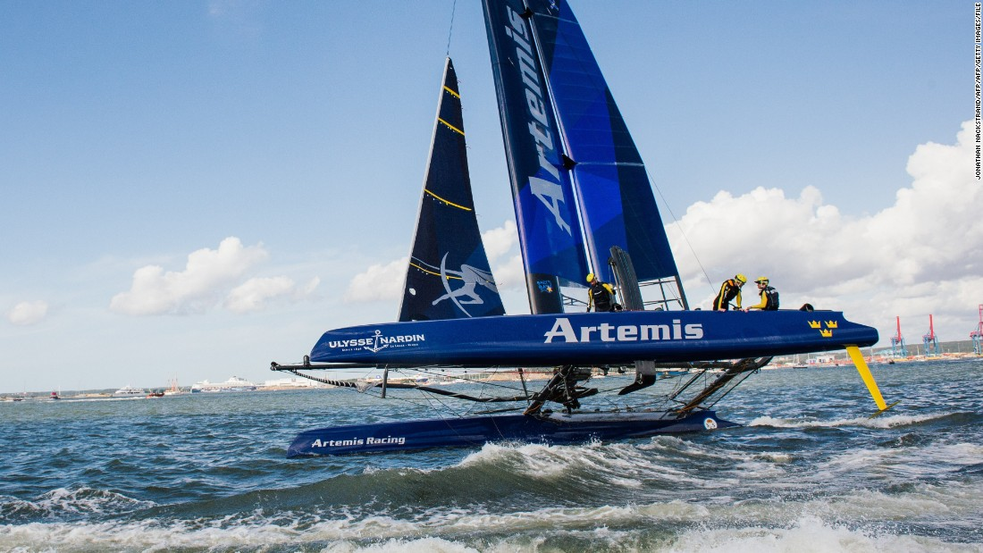 The Swedish syndicate took part in the 2013 Louis Vuitton Challenger series, losing in the semifinals. British crew member Andrew Simpson earlier died during a training accident in one of the 72-foot vessels being used for the 34th edition of the America's Cup.