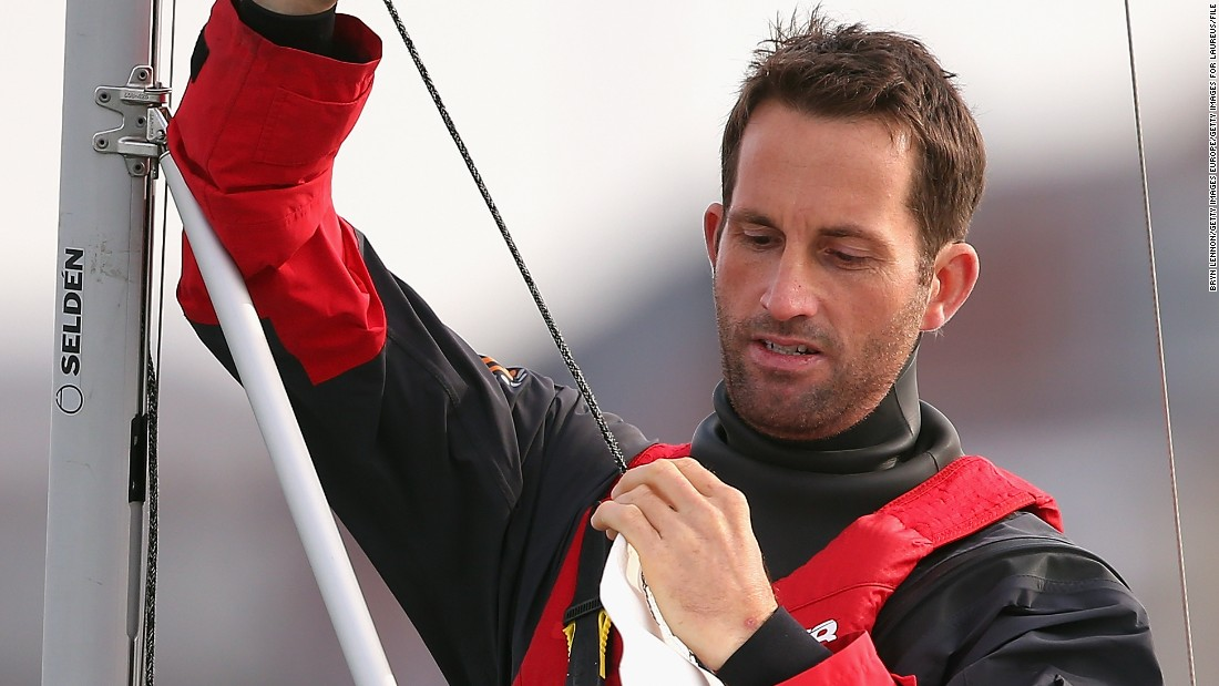 Ben Ainslie, the most successful Olympic sailor with four gold medals, has taken a step up to lead his own team following his role as replacement tactician with Oracle in 2013.