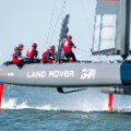 team land rover bar boat