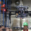 drone scan in warehouse
