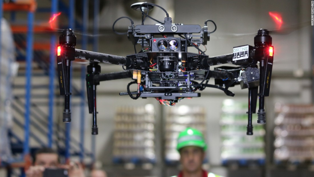 The South African start-up Drone Scan are working on a device which they believe will revolutionize the lives of warehouse workers worldwide.