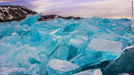 Deep blue: Baikal's bizarre ice (photo courtesy: BaikalNature.com)