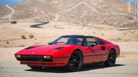 This Ferrari 308's roar has been replaced by a quieter electric hum.