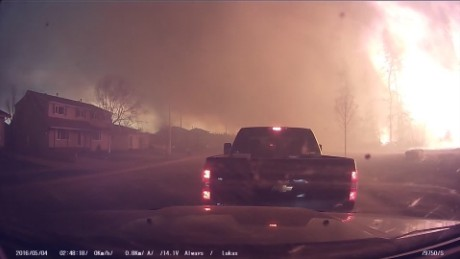 canada wildfire dashcam raw _00004219