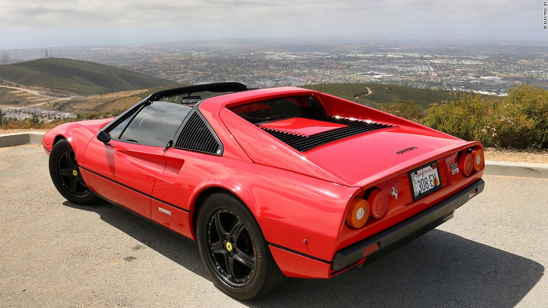 "A similar Ferrari 308 model became famous in the 1980s in the TV detective series, ""Magnum P.I."" starring Tom Selleck. Cue the theme music!"