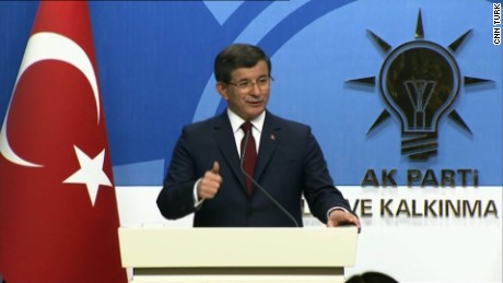 Turkish Prime Minister to step down