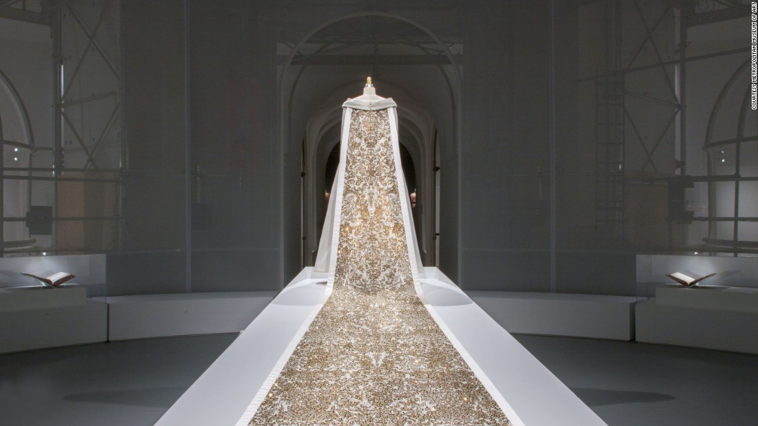 Wedding ensemble, Karl Lagerfeld for House of Chanel, Autumn-Winter 2014/15<br />haute couture collection.