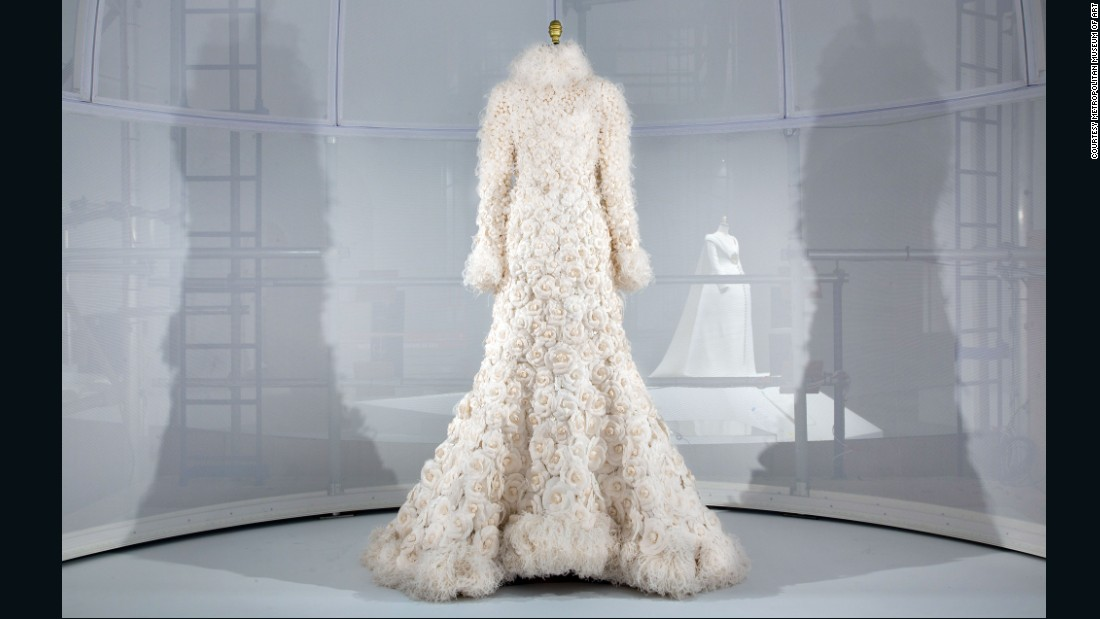 Wedding Ensemble, Karl Lagerfeld for House of Chanel, Autumn-Winter 2005/6 haute couture collection.