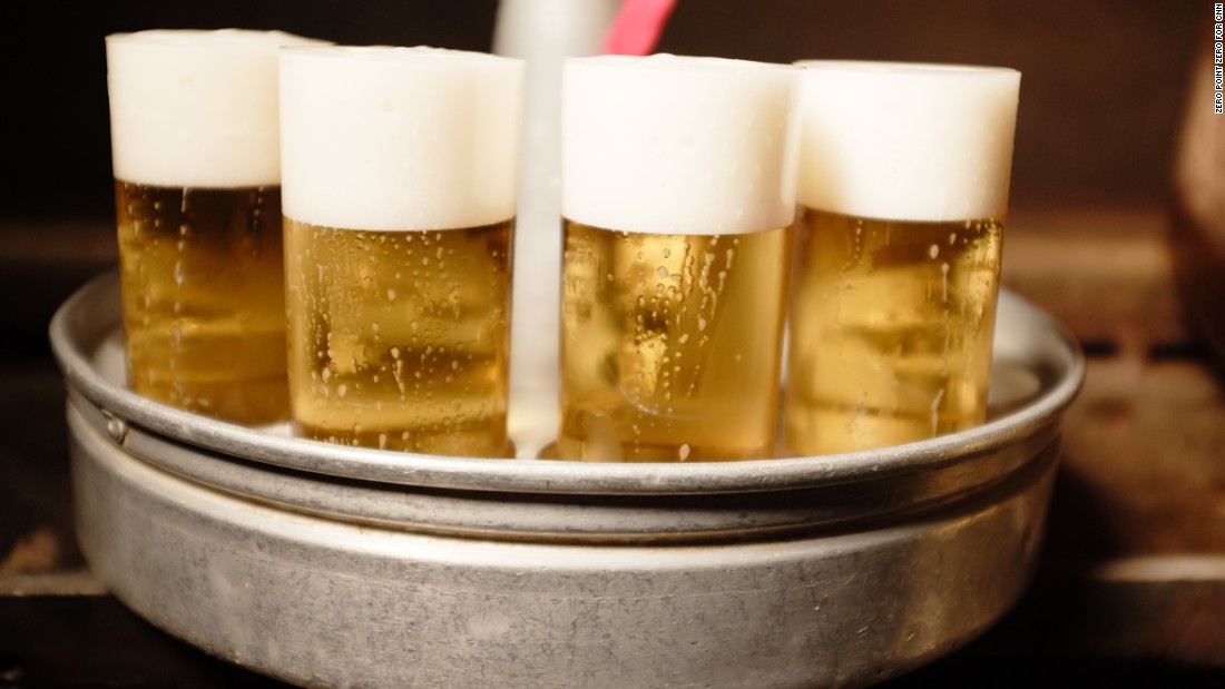 "Nothing says Cologne like a tray of Kölsch. Cologne has a ""non-douchey"" beer culture, Bourdain said. ""Here decent beer is a way of life. It's a birthright. You don't talk about it too much."""