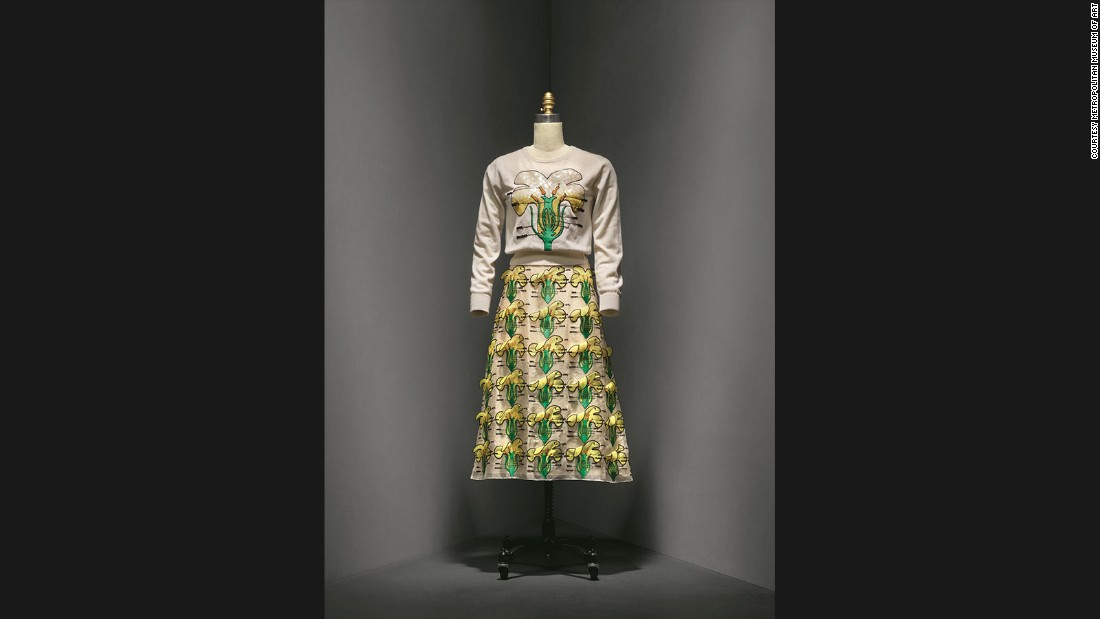 Dress by Christopher Kane, Spring-Summer 2014 prêt-à-porter collection.