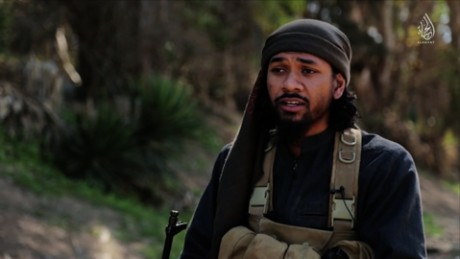 Prakash featured in ISIS promotional videos.