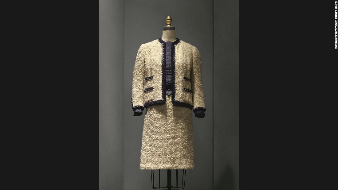 "Suit by Gabrielle ""Coco"" Chanel, 1963/68 haute couture collection."