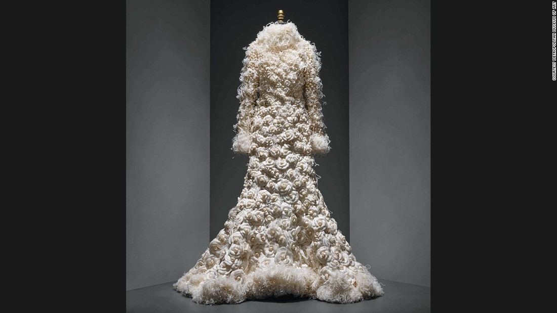 Wedding Ensemble by Karl Lagerfeld for House of Chanel, Autumn-Winter 2005/6 haute couture collection.