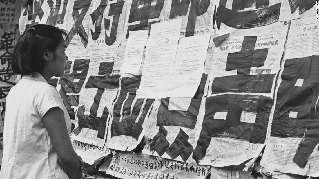 the propaganda in china during the cultural revolution Fail to understand that official propaganda by china's imperial  camp during the cultural revolution also seem to follow the model.