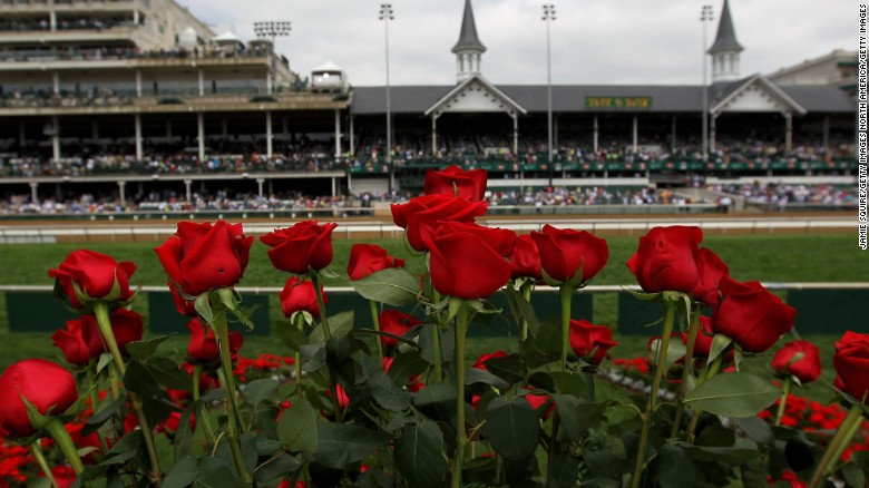 Rain arrives for start of 2017 Kentucky Derby weekend