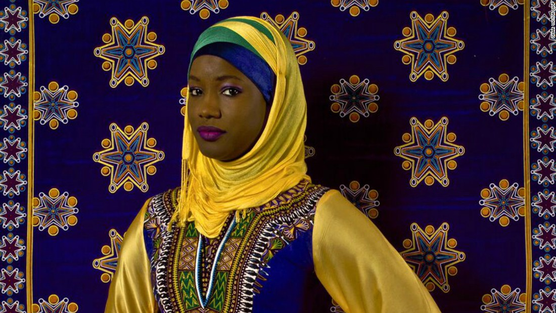 Oumy Ndour (2015) The Studio of Vanities by Omar Viktor Diop. The Senegalese photographer's works are distinguishable through his vivid use of color and patterns.