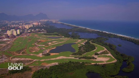 Take a look at Rio's Olympic golf course