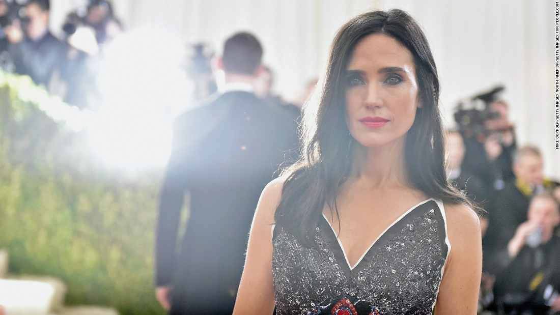 Jennifer Connelly wears Louis Vuitton at the 2016 Met Gala.