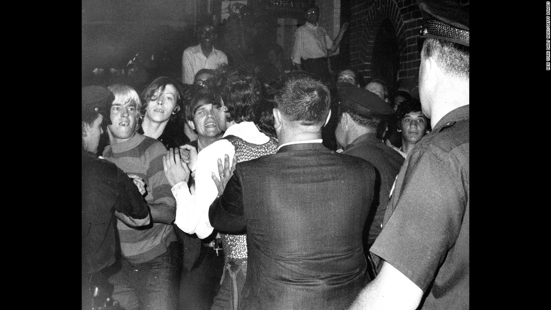 In the early morning of June 28, 1969, New York City police raided the Stonewall Inn and attempted to arrest people. This time, the patrons of the Greenwich Village gay bar fought back.