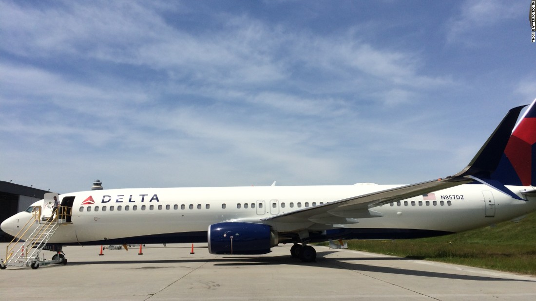 Delta plans to accept delivery of 50 new Boeing 737-900ERs over the next four years, the airline said.