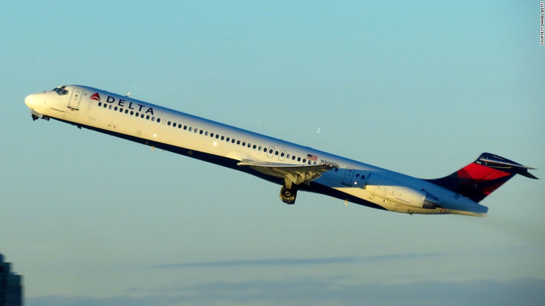 Delta plans to retire aging MD-88s from its fleet over the next five years, said Bastian. This one was built in 1987.