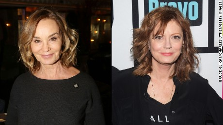 Jessica Lange and Susan Sarandon are teaming up to star in a Ryan Murphy production.