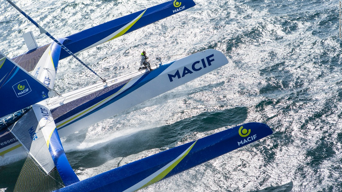 """After racing such a distance, our difference is ridiculous. It's awesome! We wanted to get some competition, and it has delivered,"" Gabart told the Transat website as he reflected on his Atlantic duel with Sodebo skipper Thomas Coville on Friday May 6."