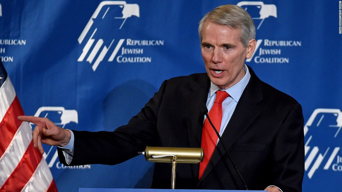 Rob Portman: Donald Trump's travel ban 'wasn't properly vetted ...