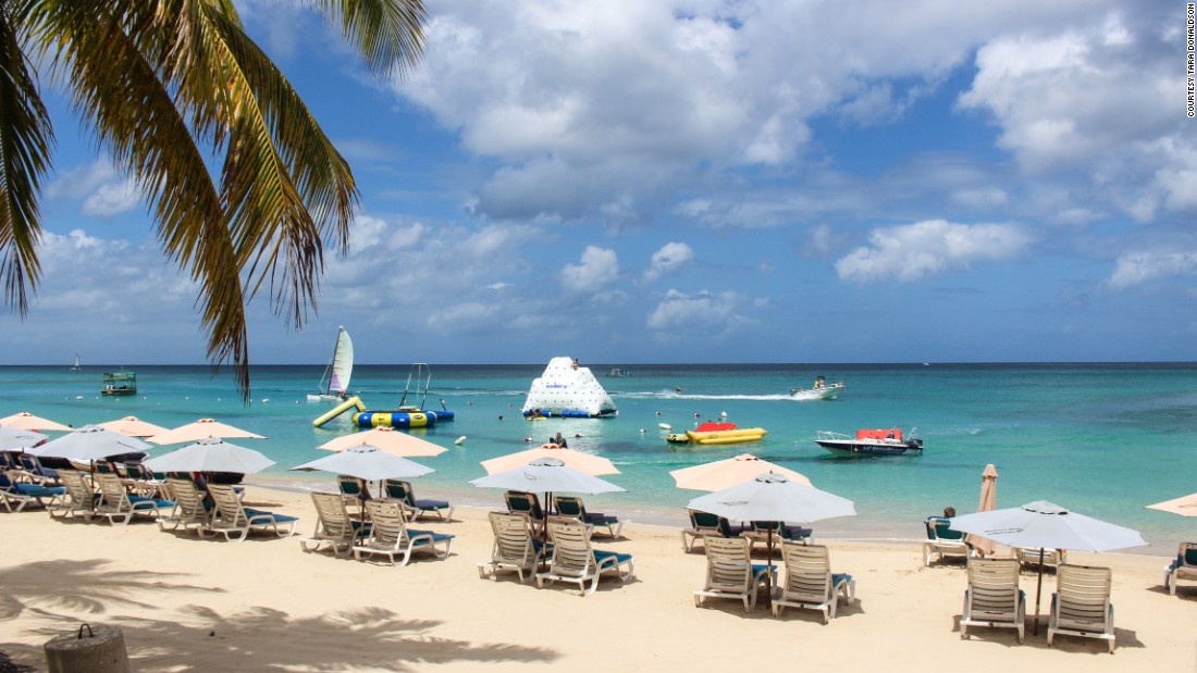 Barbados' beaches, where gin-clear waters lap the shore, are often voted among the world's best.