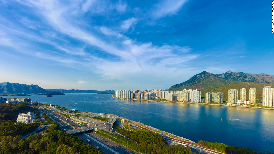 Not the HK view you were expecting? Adjacent to The Chinese University of Hong Kong, the Hyatt Sha Tin offers views of Tolo Harbour and the Kau To Shan mountains.