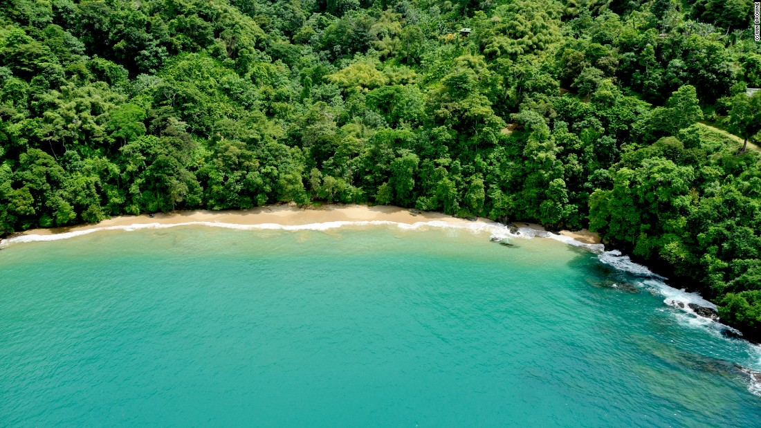 In Tobago, the sister island of Trinidad, visitors may have pristine beaches like the crescent hugging Pirate's Bay all to themselves.