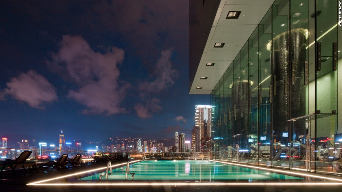 Gym goers at Hotel Icon are inspired by these killer views.
