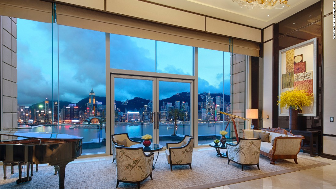 The territory's oldest hotel has been offering some of the best views of Hong Kong Island since 1928.