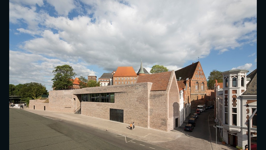European Hansemuseum. Studio Andreas Heller Architects & Designers. 2015, Lübeck, Germany. (Photo: Werner Huthmacher)