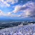 japan yamagata Zao Onsen Ski Resort