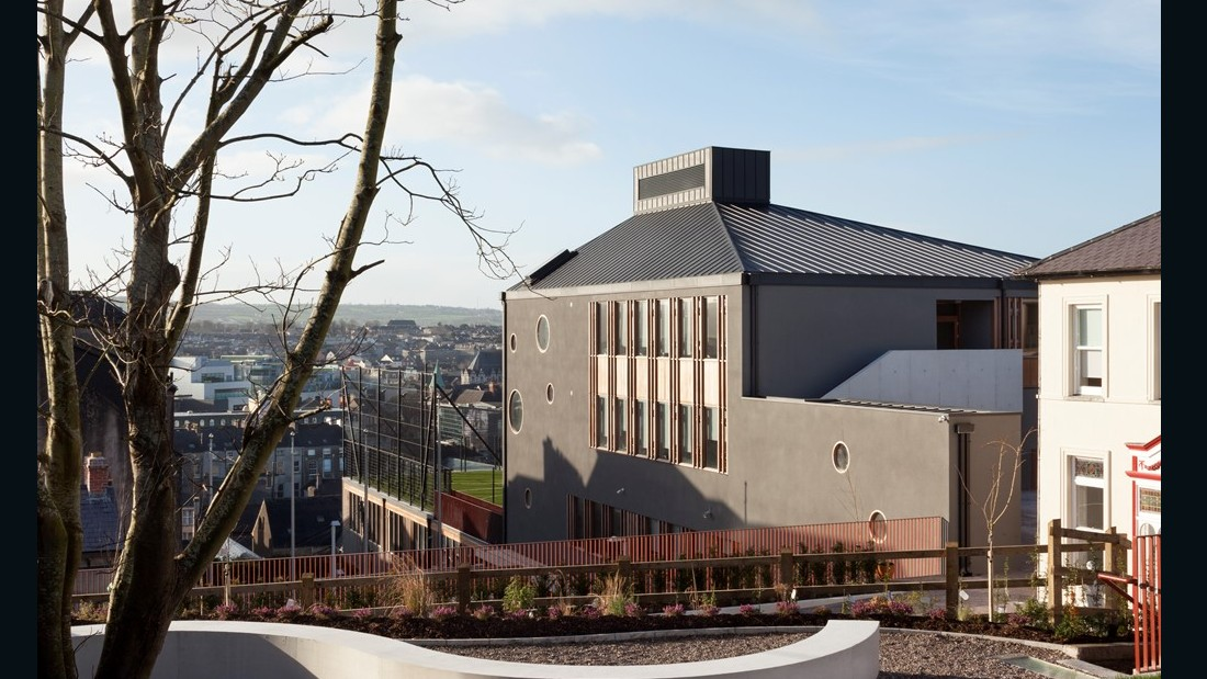 St Angela's College Cork. O'Donnell + Tuomey. 2015, Cork, Ireland. (Photo: Alice Clancy)